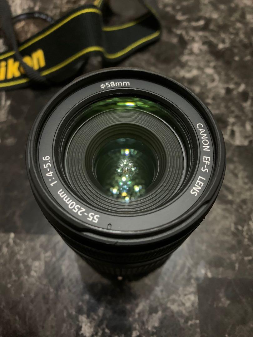 Cannon EF-S 55-250mm f/4-5.6 IS STM Zoom Lens