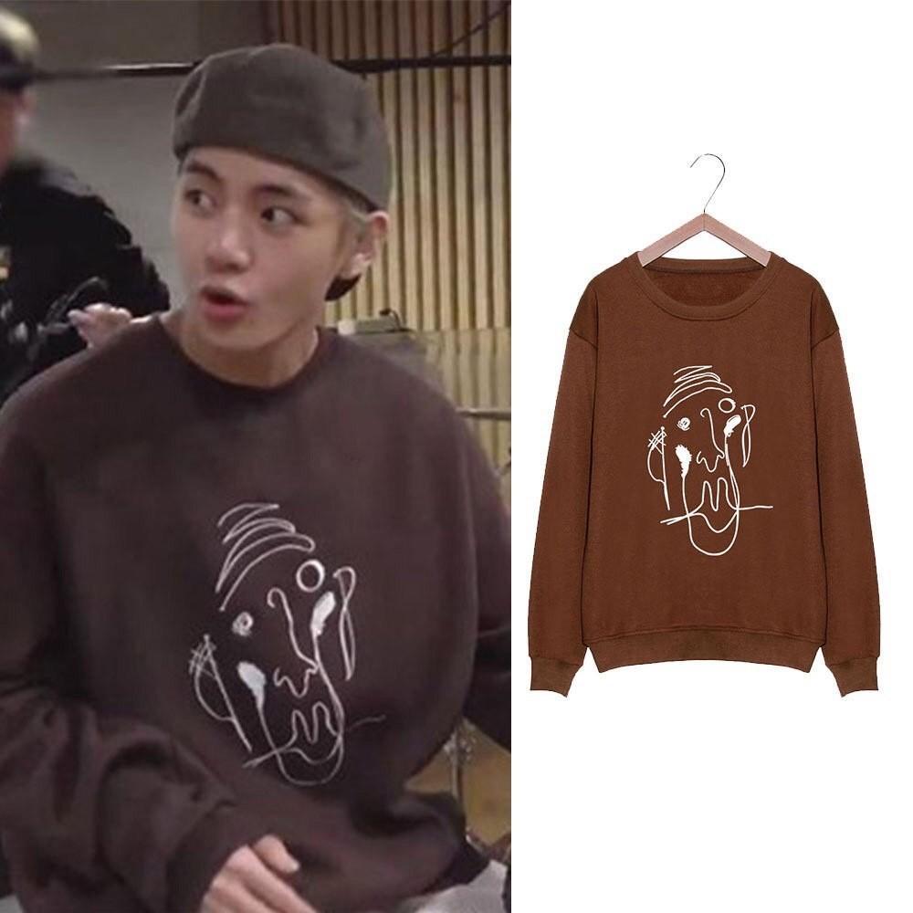 🌼BTS V Sweatshirt Pullover Hoodies