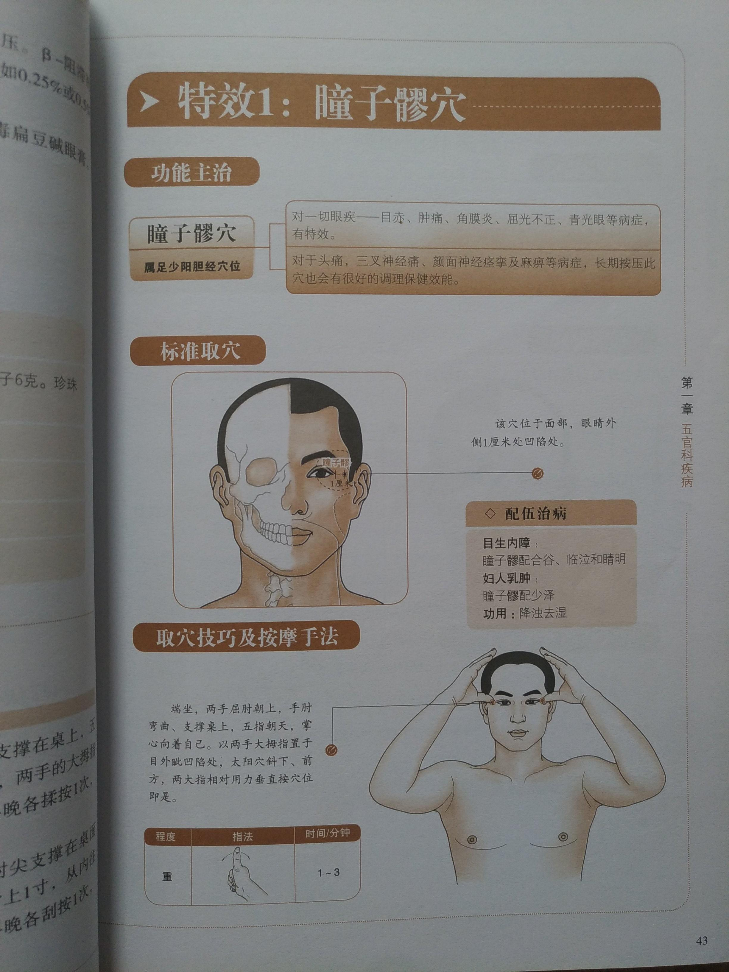 Chinese Acupressure Book Special Efficacy Acupuncture Point Massage for All Kinds of Sickness
