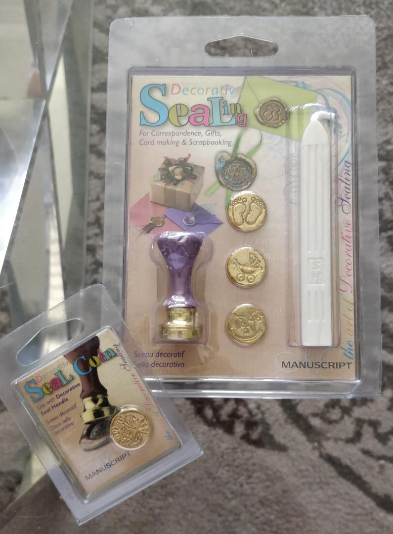 Decorative Seal Stamp and Wax Stick