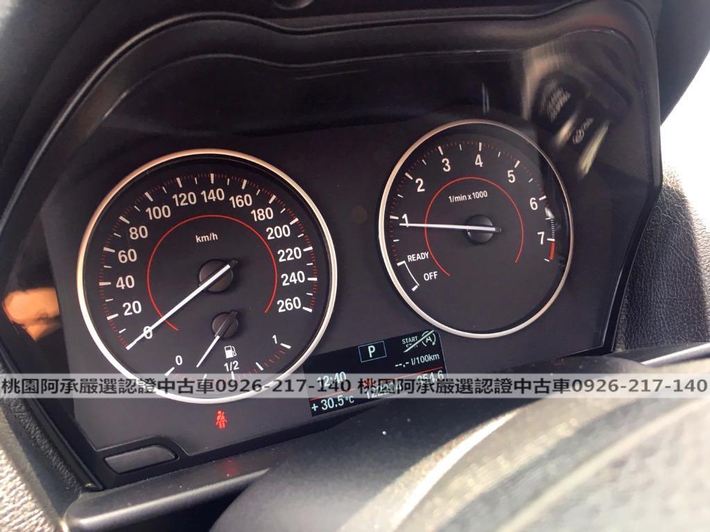 【FB搜尋桃園阿承】寶馬 超人氣116I跑12萬 2013年 1.6CC 灰色 二手車 中古車