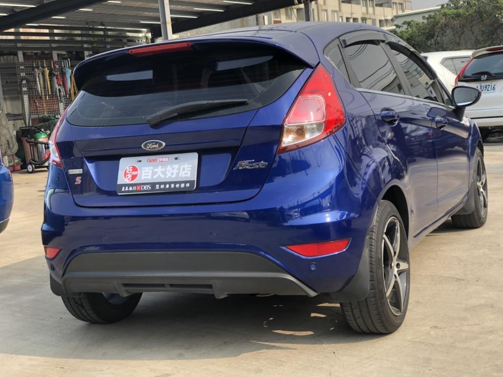 【FB搜尋桃園阿承】福特 超人氣FIESTA跑4萬 2017年 1.0CC 藍色 二手車 中古車