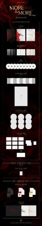 [GO] TWICE 9th Mini Album MORE & MORE (WITHDRAMA HOLOGRAM PC SET AVAILABLE TO)