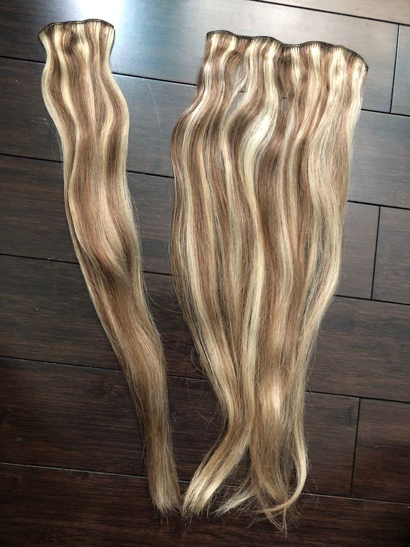 REMY Hair extensions with clips (7pcs)