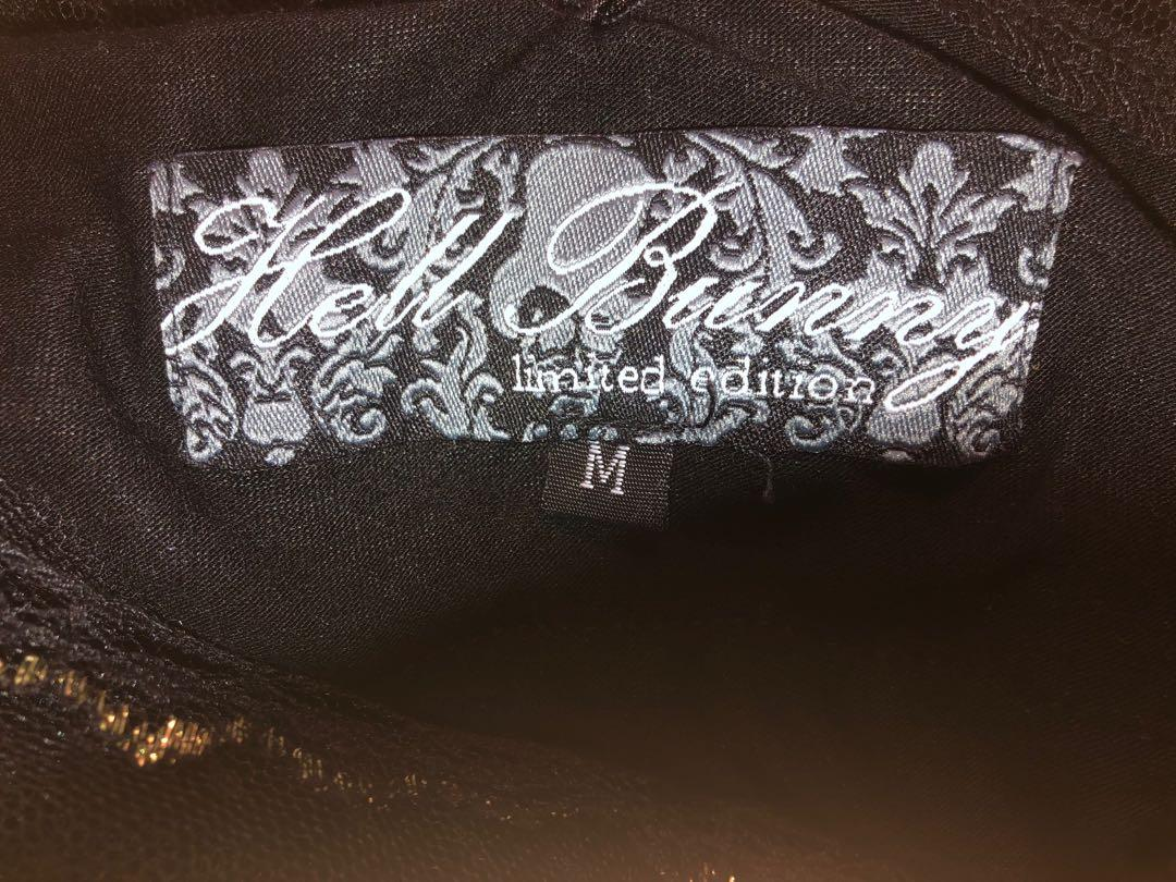 Hell Bunny lace + tassel dress