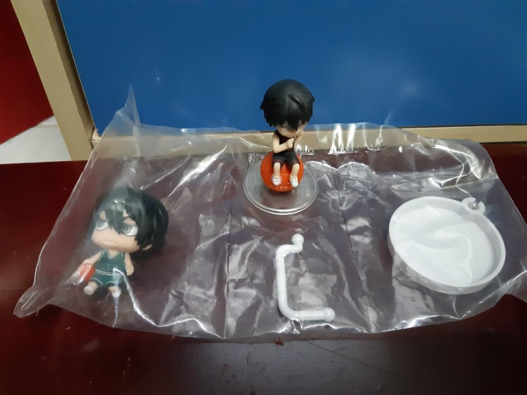 Kuroko no Basuke Imai Shouichi Makoto Hanamiya Mini Figurine Set