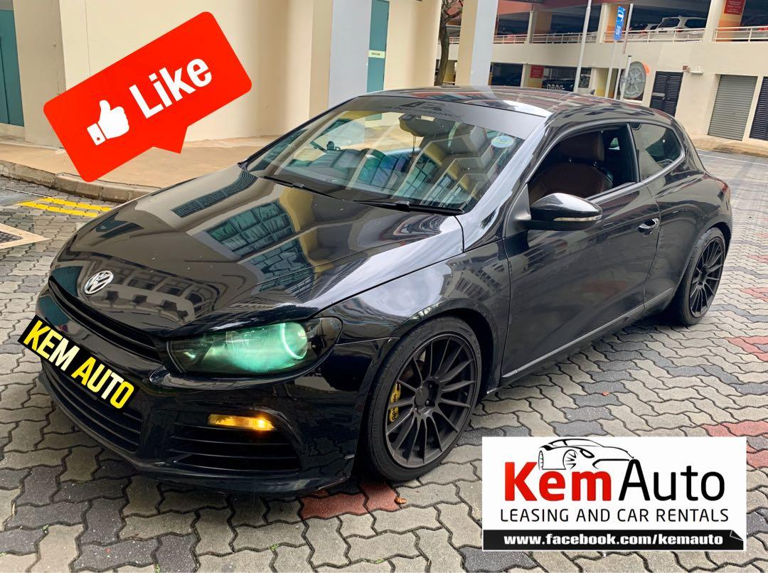 Modded Volkswagen scirocco 1.4A Loud & sporty for Rental