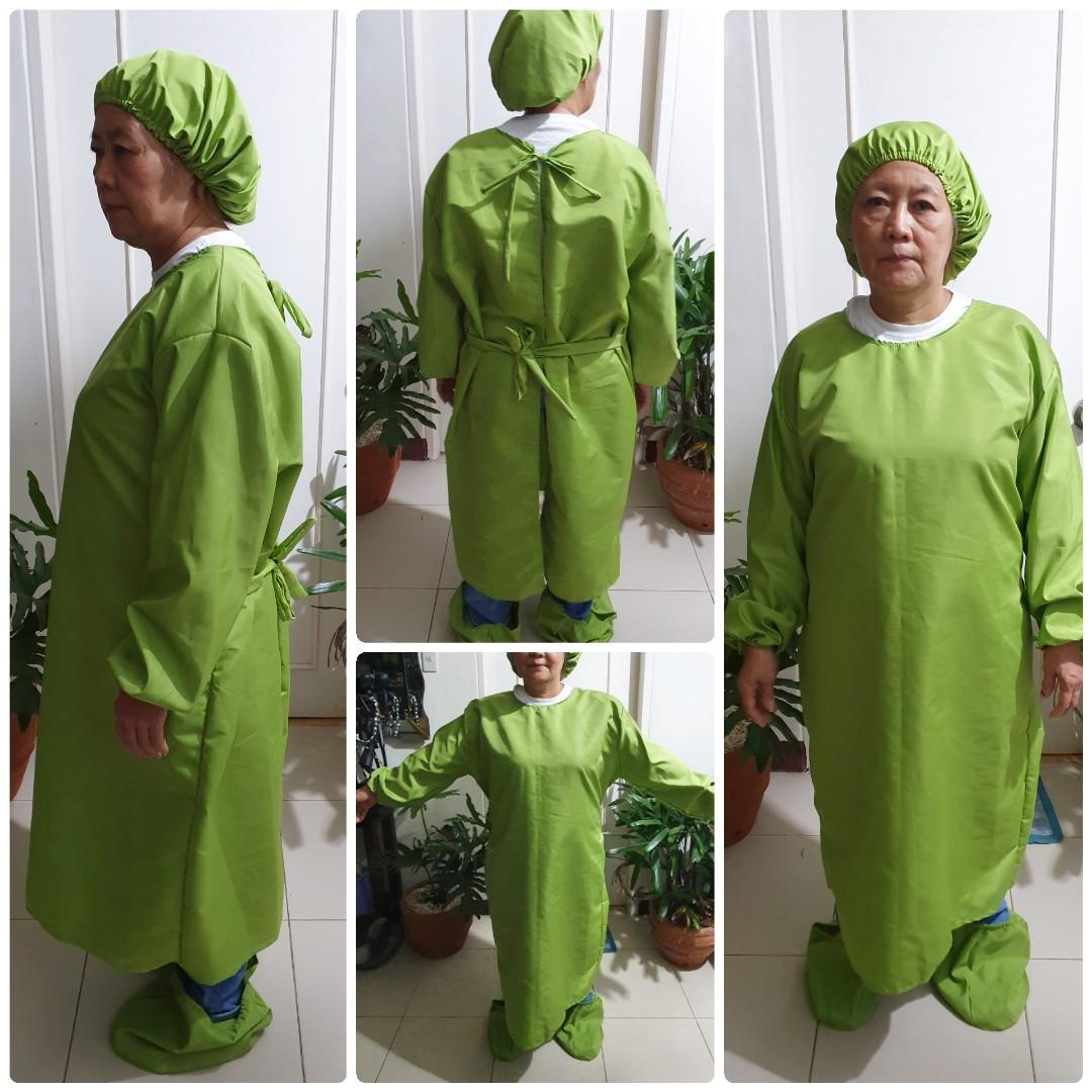 Protective suit washable