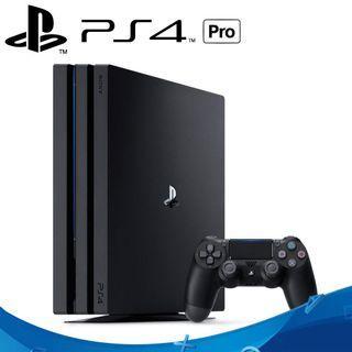 PS4 Pro 1TB 7218B型 二手近新 極致黑