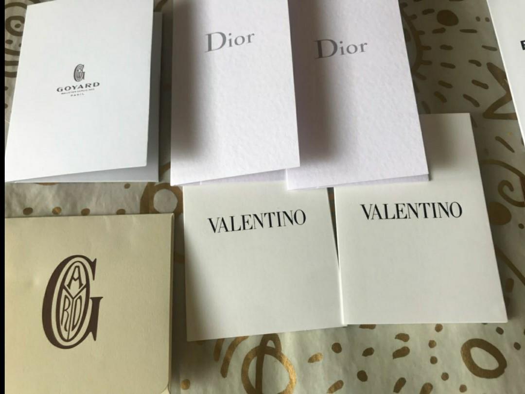 Receipt book booklet book card amplop receipt louis vuitton chanel lv dior balenciaga hermes valentino fendi burberry original