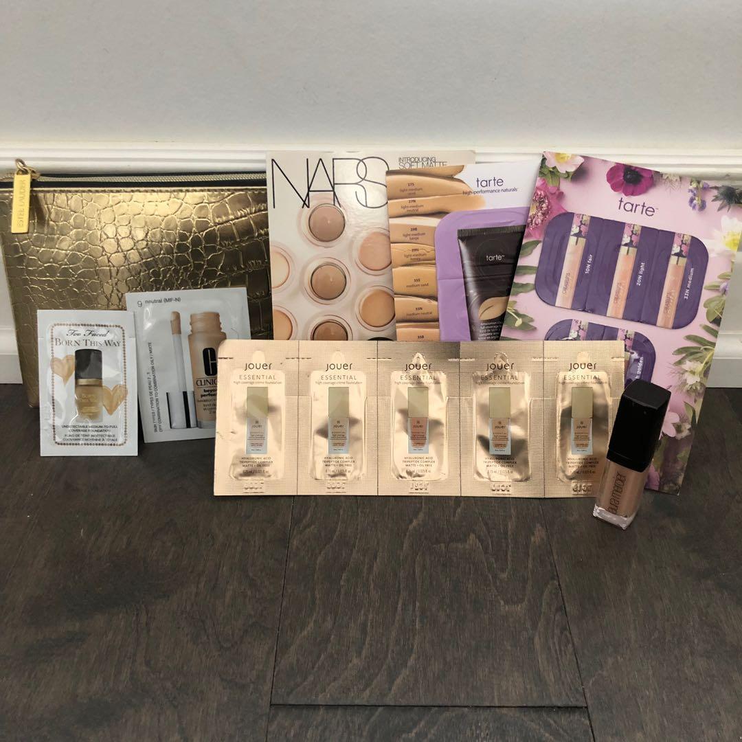 Sephora Sample Foundation Set