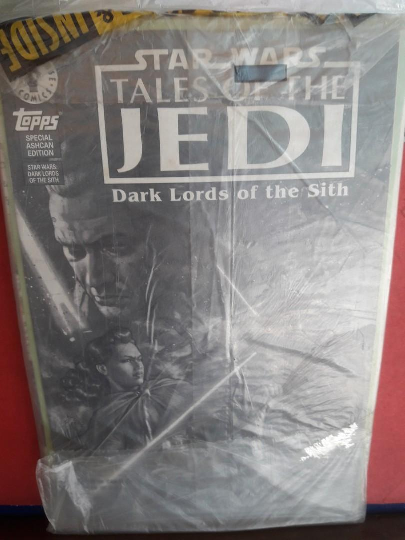 Star Wars Galaxy Magazine(Fall 1994) & SW Tales of the Jedi  Dark Lords of the Sith