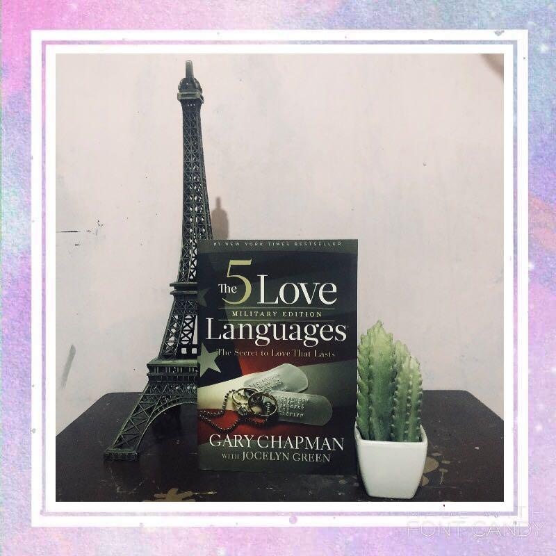 The 5 Love Languages Military Edition: The Secret to Love That Lasts  by Gary Chapman