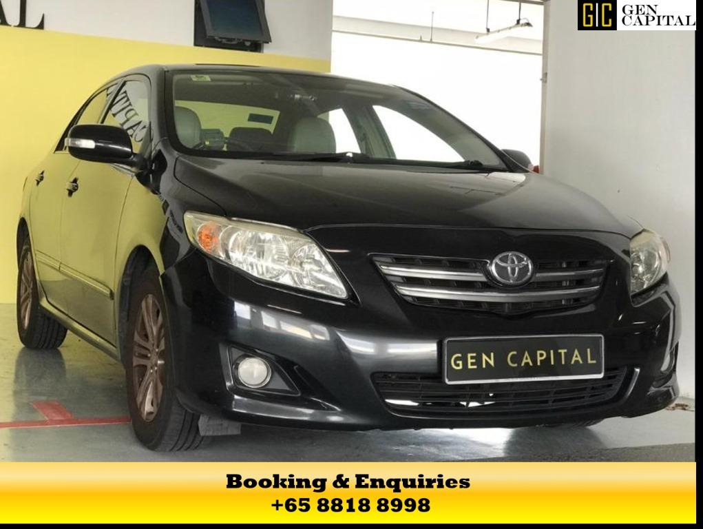 TOYOTA ALTIS - RENT WITH US TODAY FOR THE BEST RATE! ASK OUR DEAR STAFF FOR MORE INFORMATION ON THE PACKAGE TODAY @ 8818 8998!