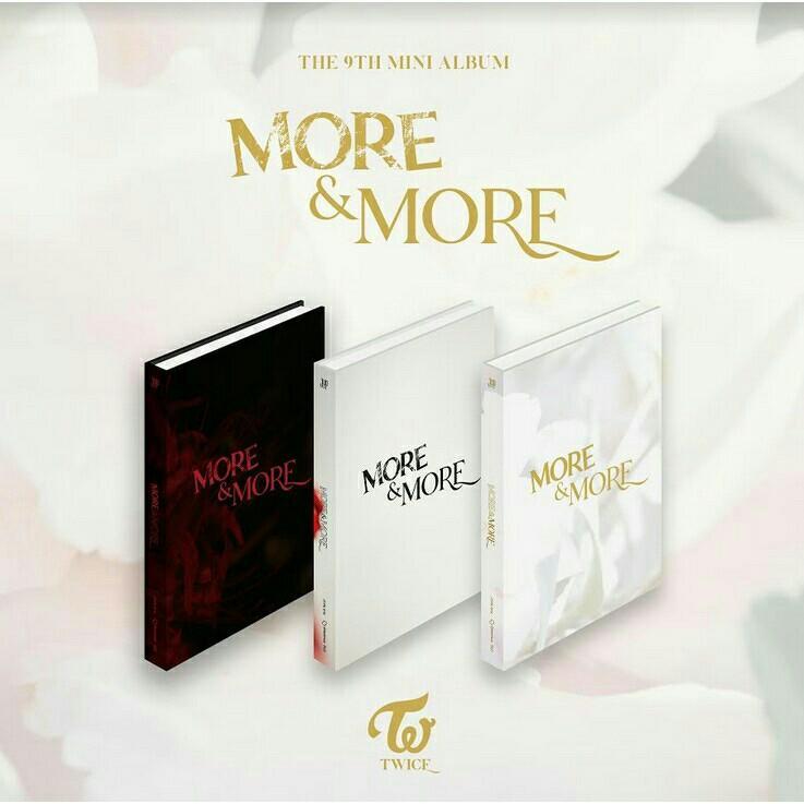[CHOOSE VER.] TWICE 9TH MINI ALBUM - MORE& MORE PRE ORDER