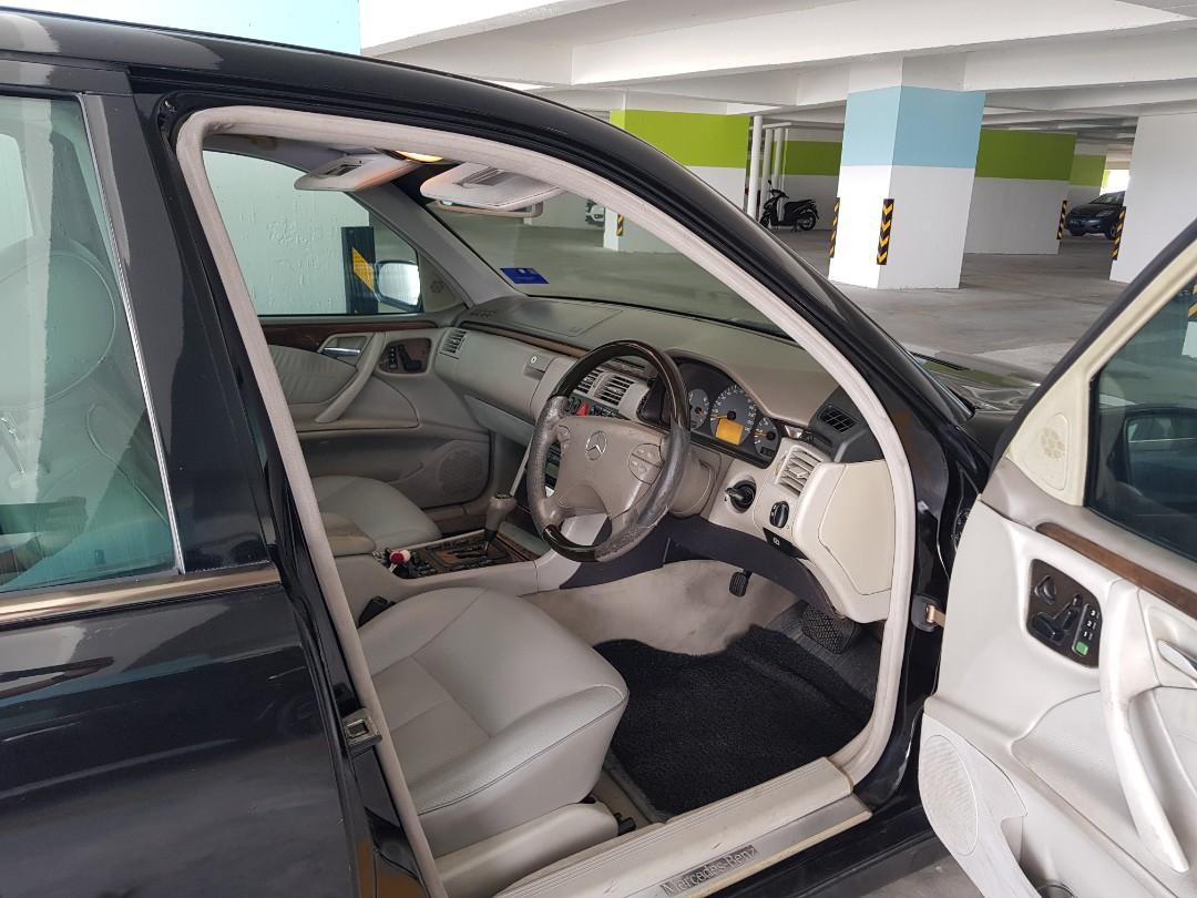 W210 Mercedes Benz E240 Avantgarde full spec 1999/2000