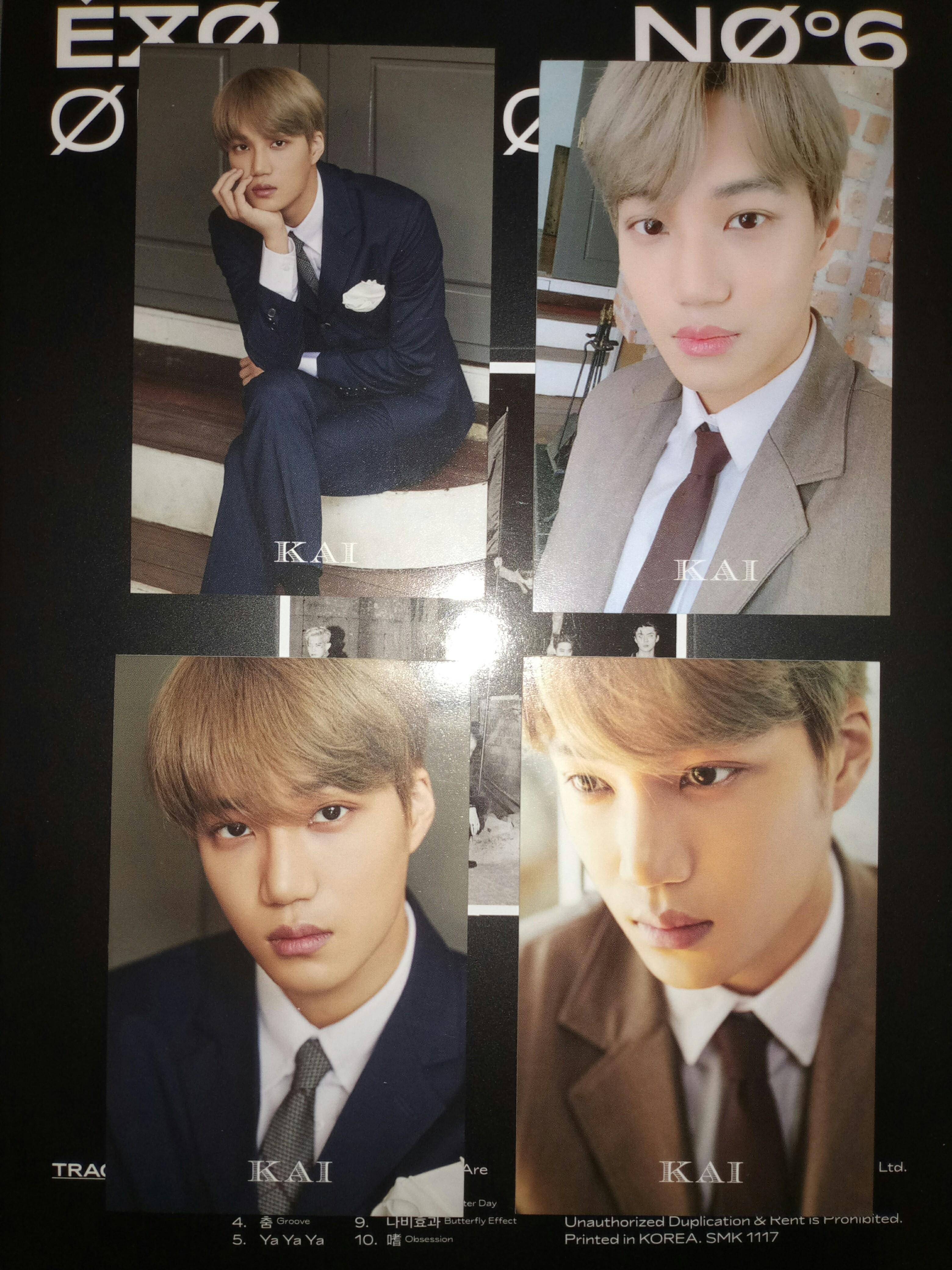 (SET) WTS - KAI FORTUNE PC (FROM EXO SEASON GREETINGS 2020)