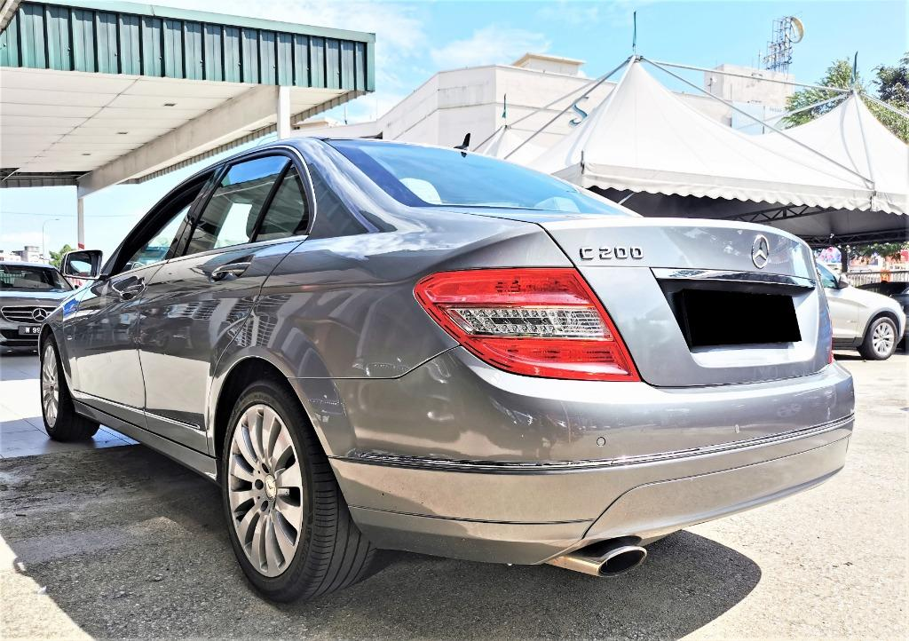 2010 Mercedes-Benz C200 CGI 1.8 Elegance Sedan [TIPTOP CONDITION][ORI MILEAGE 84,000 KM ONLY][1OWNER]