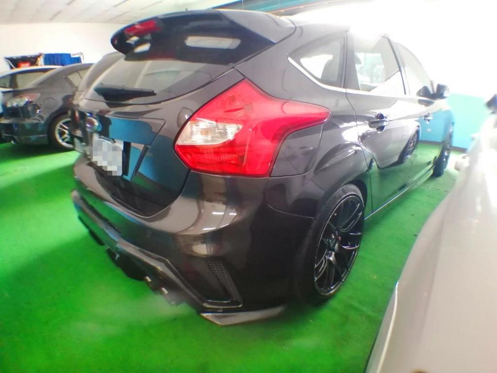 2014 精品改裝 Focus 2.0 汽油頂級 自動停車 0800-000-811