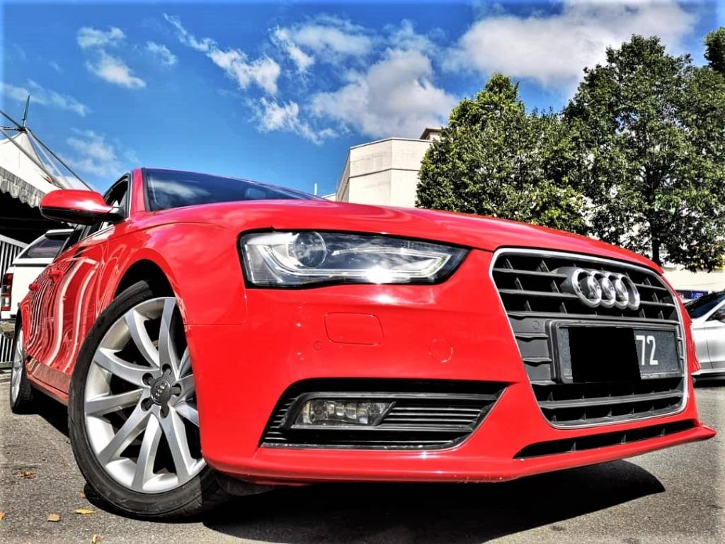 2014 Audi A4 1.8 TFSI Sedan [TIPTOP][LOW MILEAGE 68,000KM ONLY][1 OWNER]