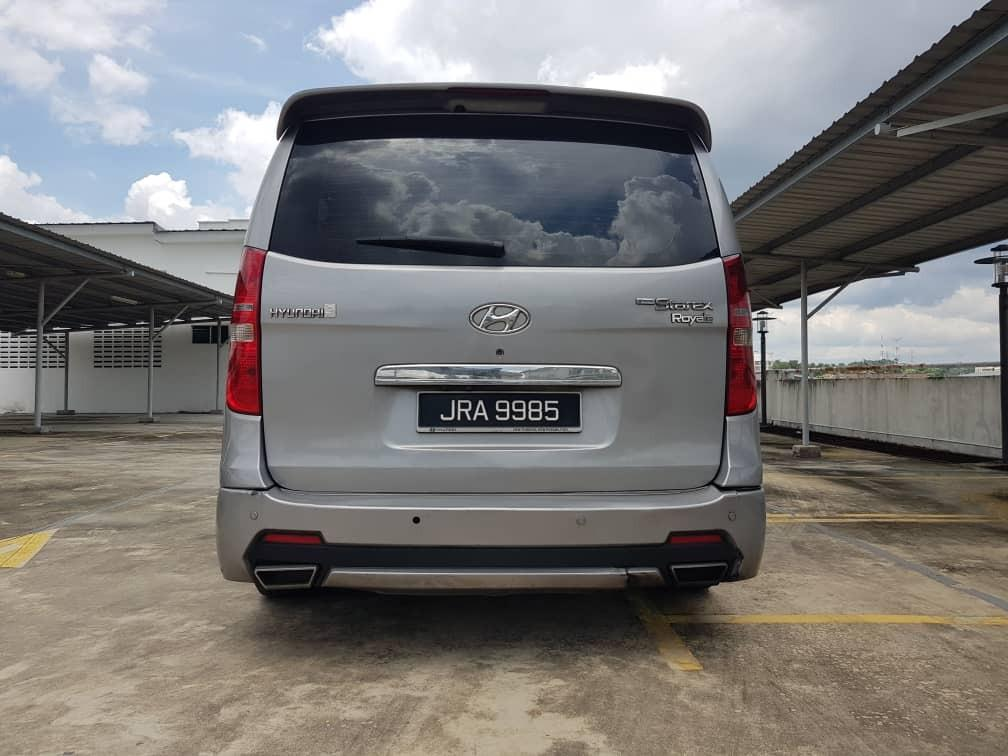 2015 Hyundai GRAND STAREX 2.5 (A) B/L LOAN KEDAI DP 3-5K