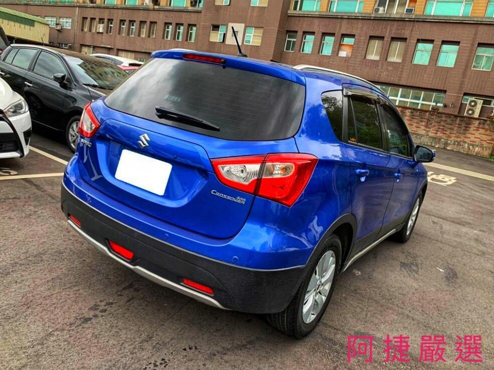 2015年 Suzuki SX4 Crossover 沒薪轉沒勞保 信用瑕疵 皆可辦理 只需要雙證件強力過件