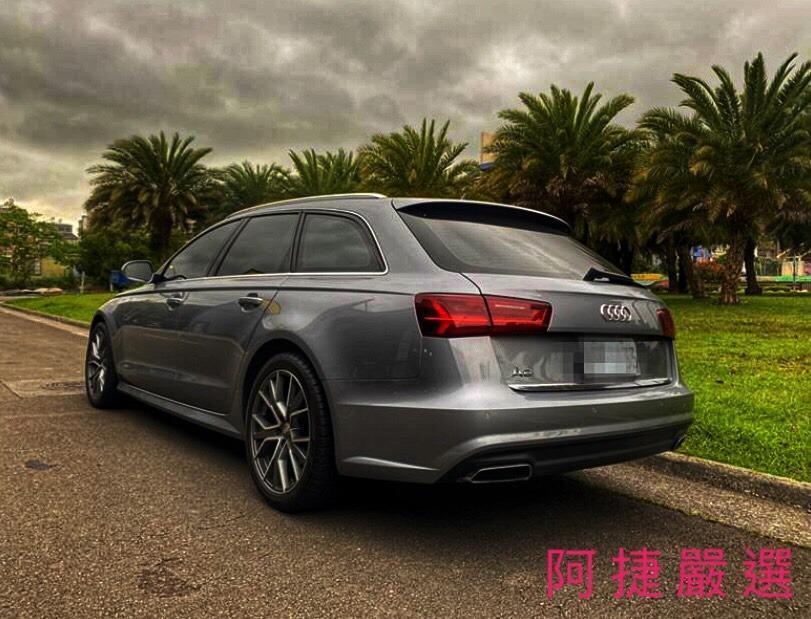 2017年 Audi A6 AVANT 跑1.4萬 沒薪轉沒勞保 信用瑕疵 皆可辦理 只需要雙證件強力過件