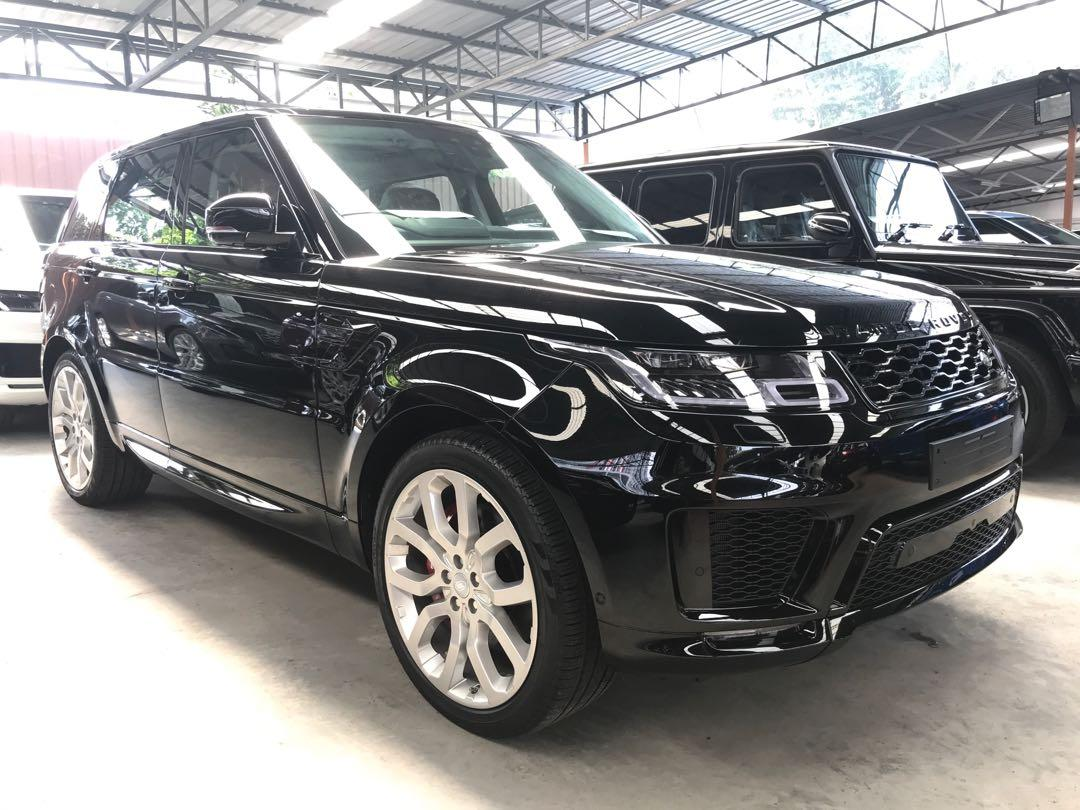 2018 Land Rover Range Rover Sport 5.0L V8 Supercharged Autobiography Dynamic