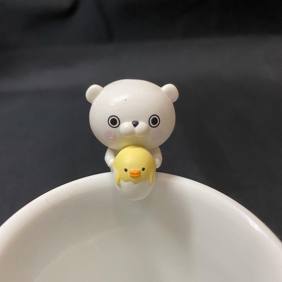 【現貨】 yosistamp扭蛋 兔兔100% 杯緣系列(熊熊)