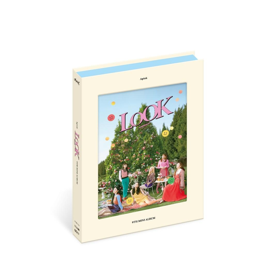 [Free Shipping] Apink Look Extra YOS Ver to Sell (with poster) Sealed