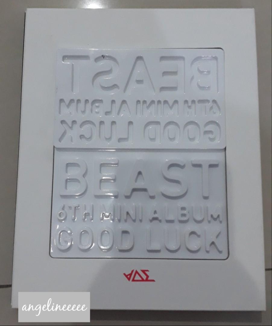 BEAST (B2ST) - Good Luck Black and White Version PRELOVED ALBUM