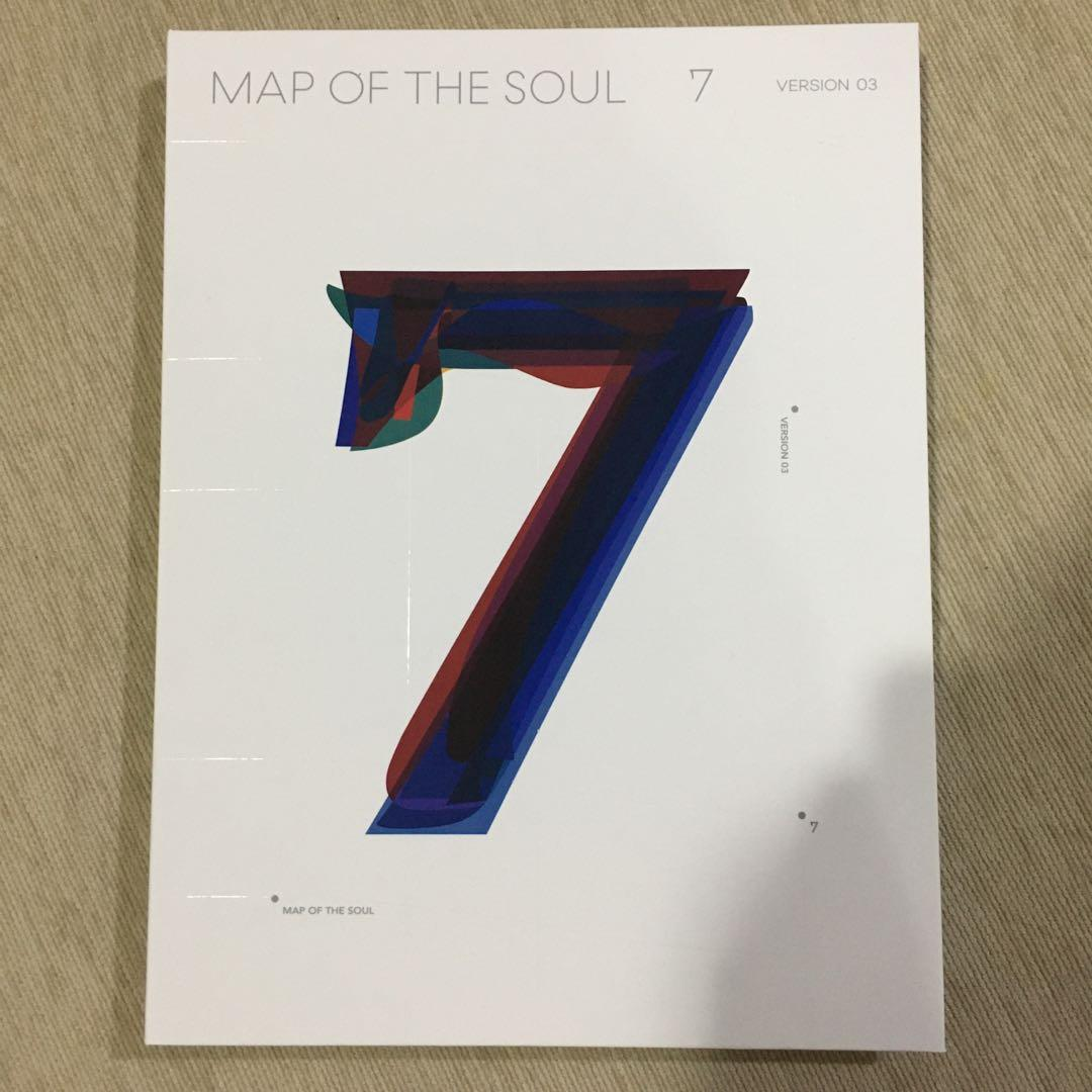 BTS - Map of the Soul 7 Album Version 3 (WITHOUT pc)