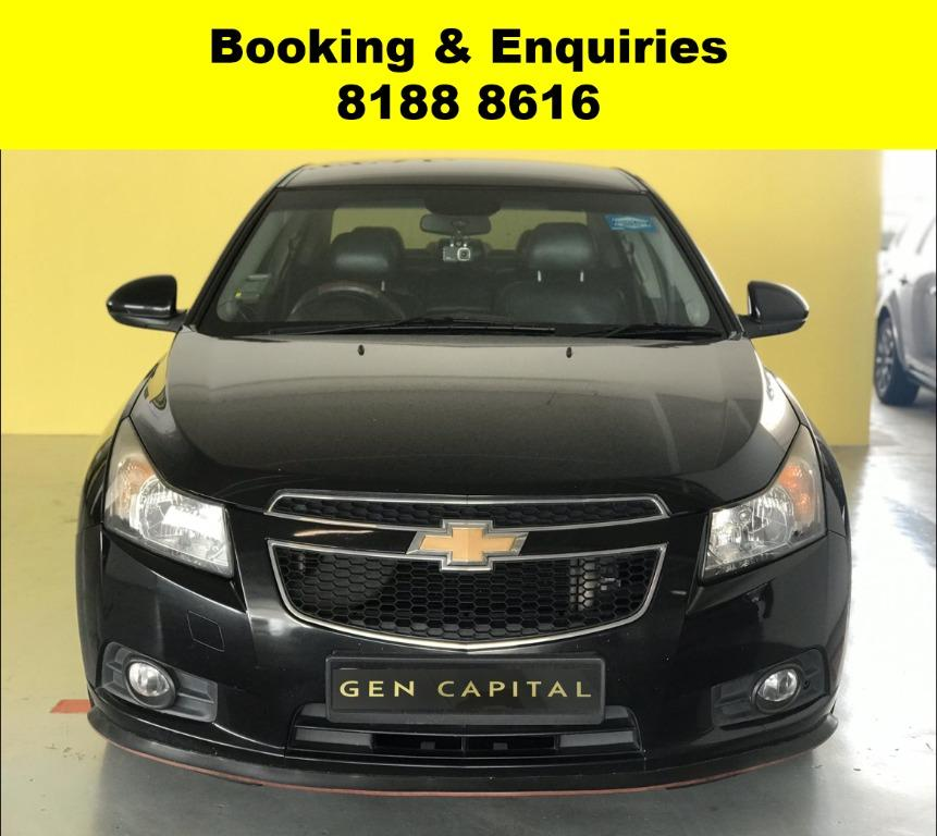 Chevrolet Cruze CIRCUIT BREAKER PROMO 50% OFF! FULLY SANITISED AND GROOMED! WHATSAPP 8188 8616 NOW TO RESERVE A CAR TODAY!