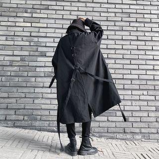 Dark style trench coat