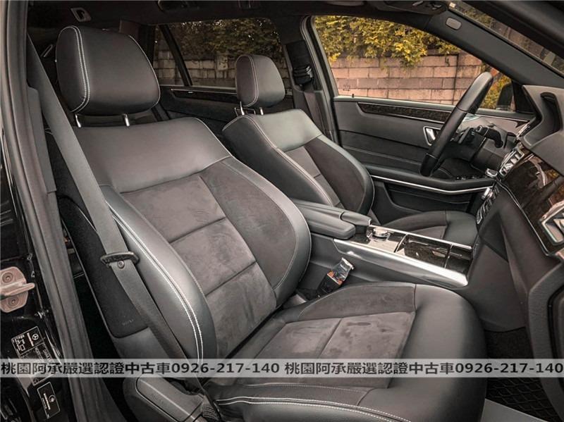 【FB搜尋桃園阿承】賓士 超人氣E200跑9萬 2013年 2.0CC 黑色 二手車 中古車