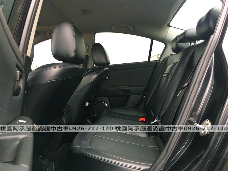 【FB搜尋桃園阿承】馬自達 超人氣MAZDA3 2007年 2.0CC 黑色 二手車 中古車
