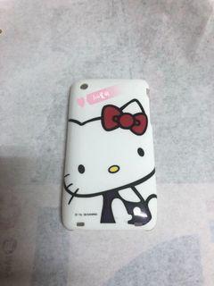(贈物)hello kitty 手機殼 白色 iPhone 3gs