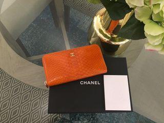 Chanel Exotic Skin Wallet