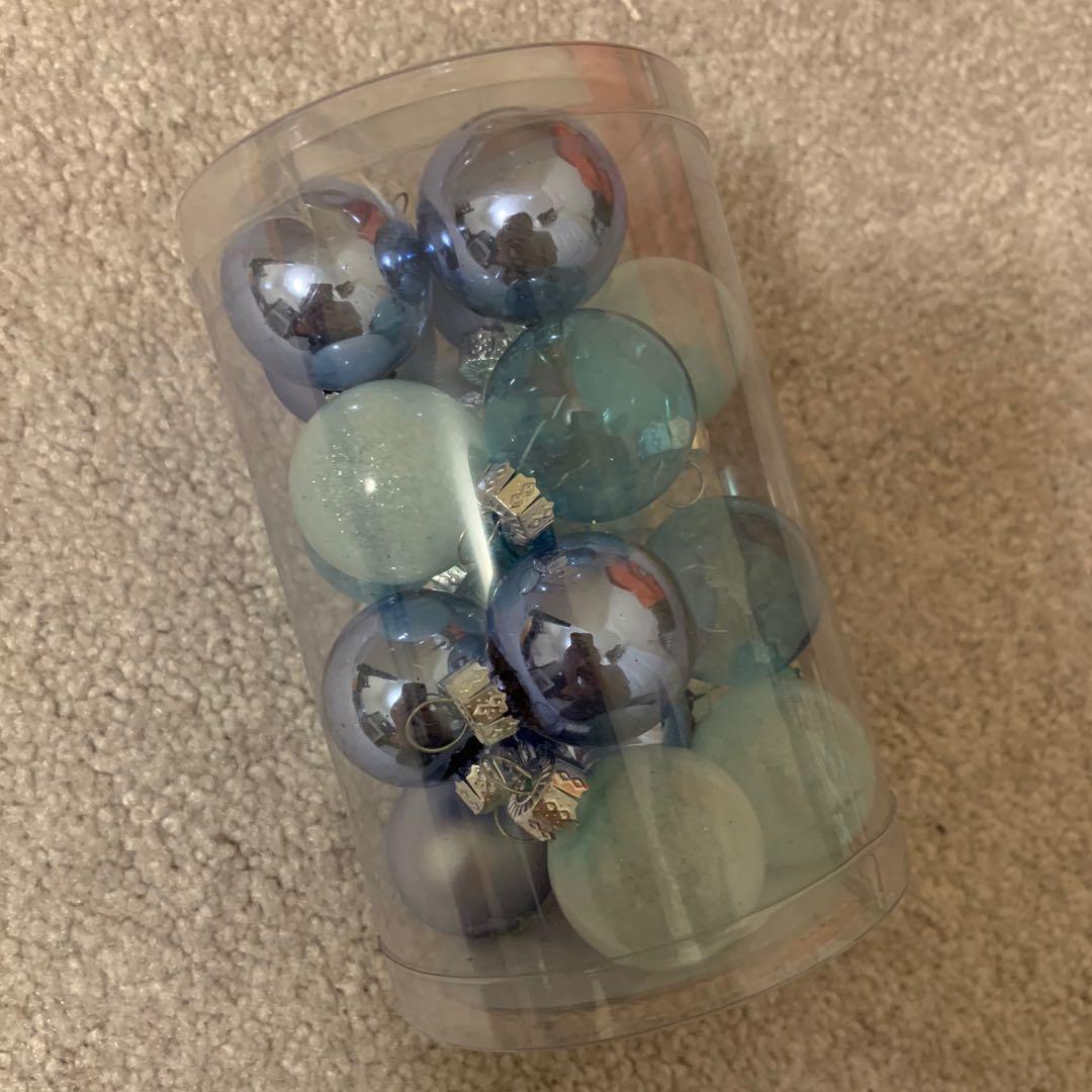 Mini Glass Ornaments