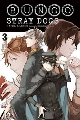 [PO] BUNGO STRAY DOGS LIGHT NOVEL VOL 3 : The Untold Origins of the Detective Agency  (English Ver.)