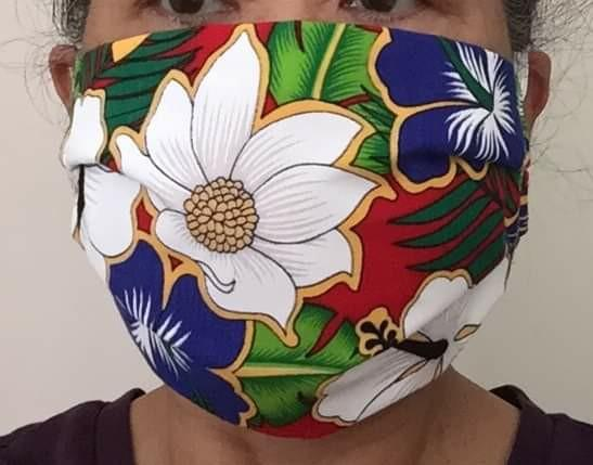 Reversible and washable mask