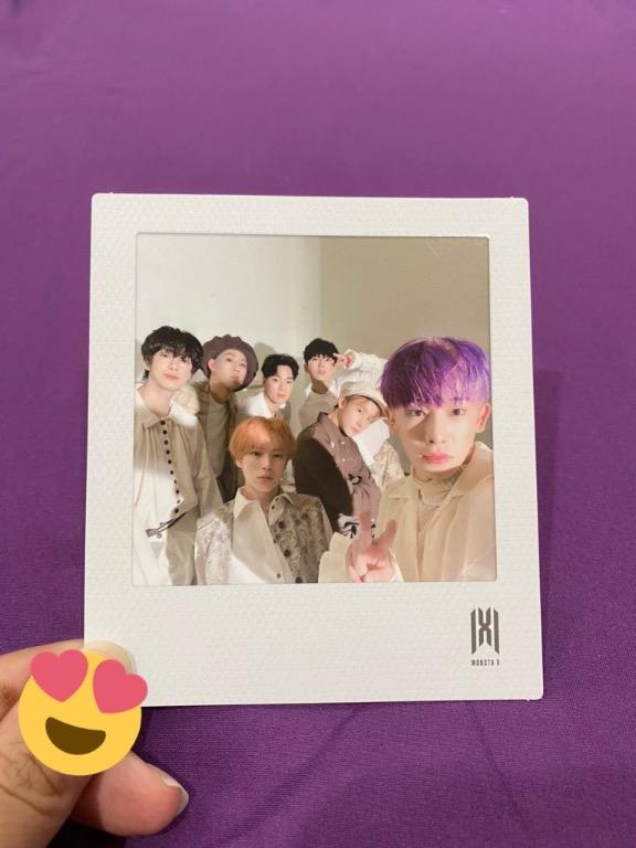 [RS] Monsta X Follow Find You Official Group Polaroid