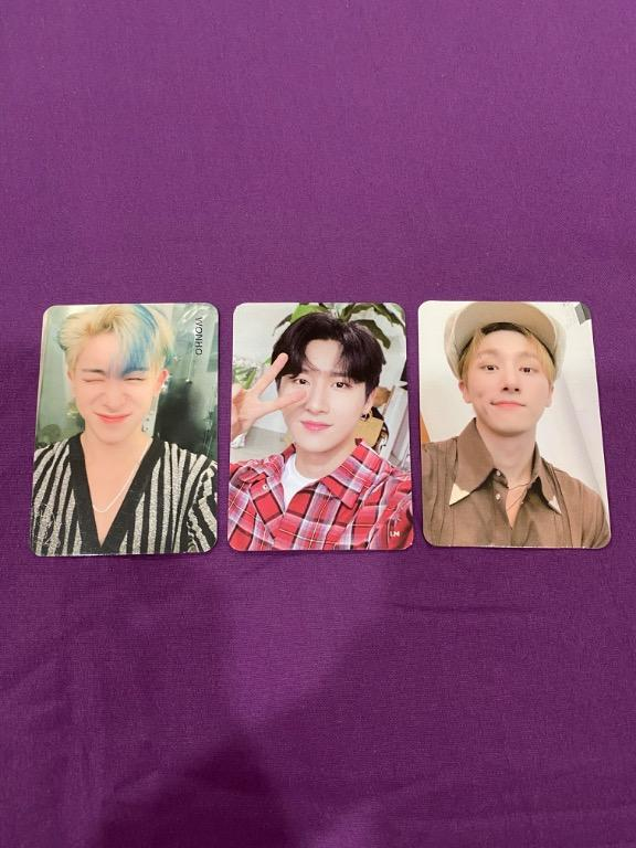 [RS] Monsta X Wonho and Changkyun Official Photocard