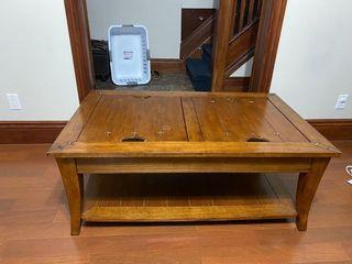 Solid Wood Living Room Set