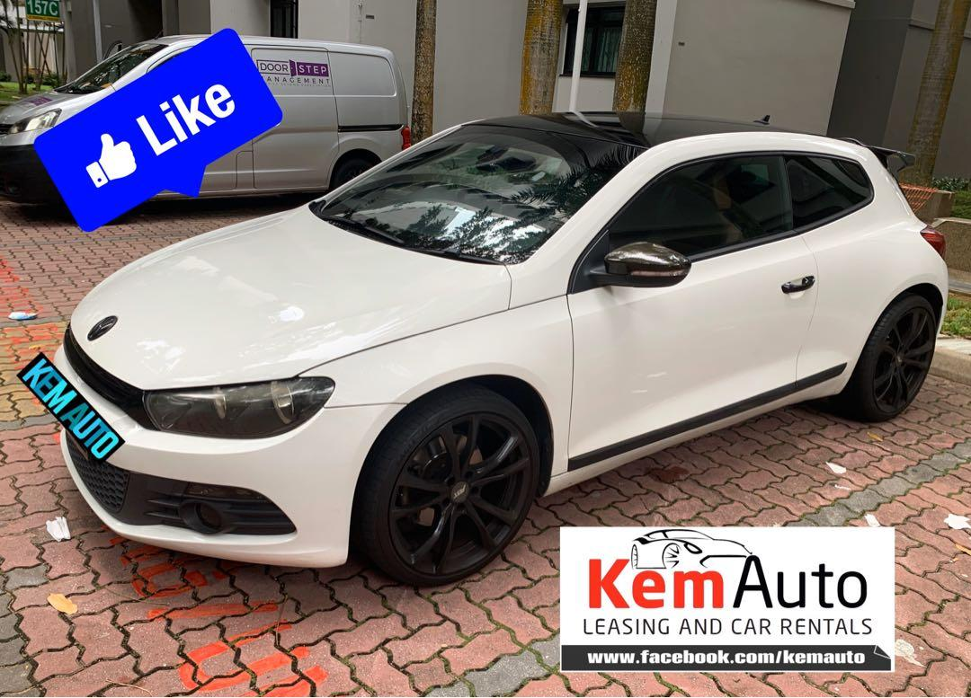 Sporty Clean Volkswagen Scirocco 1.4A TSI for rental