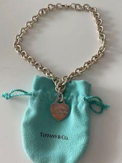 Tiffany&Co Return to Tiffany Heart Tag Necklace