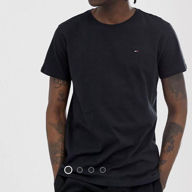 Tommy jeans black tee
