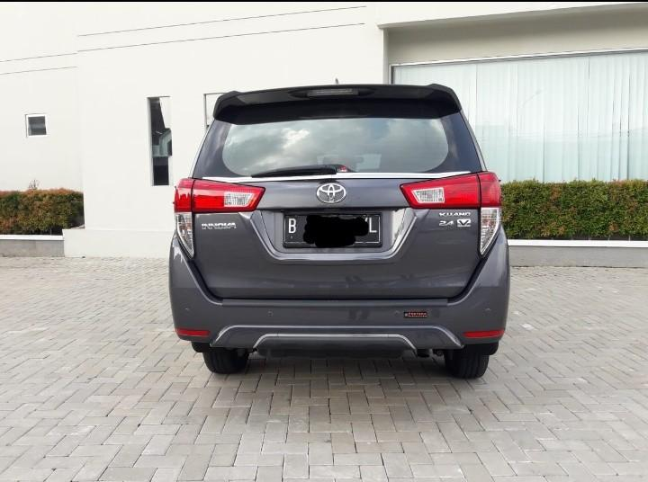 Toyota inova v at diesel 2018 low km pajak hidup atas nama org
