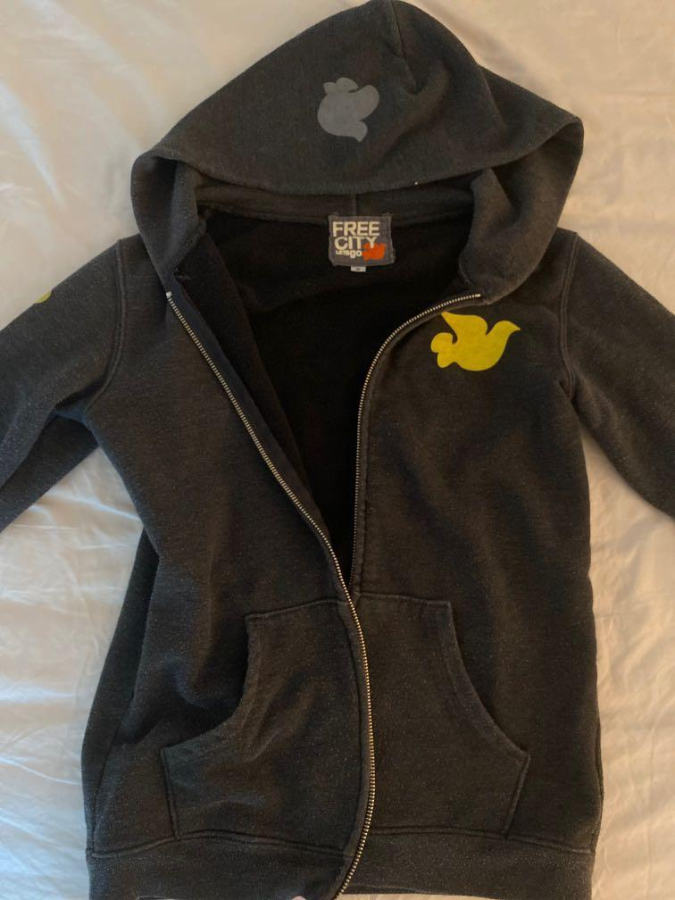 Womens Free City Zip-up Hoodie- Size Small