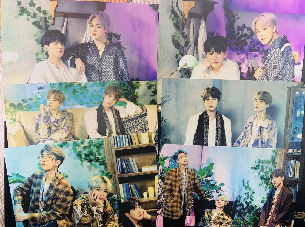 WTS - BTS 5th Muster Magic Shop OFFICIAL Pop Up Card